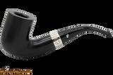 Peterson Sherlock Holmes Rathbone Ebony Tobacco Pipe PLIP