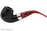 Peterson Dracula 221 Tobacco Pipe - Fishtail