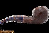Savinelli Fantasia Brown 673 Tobacco Pipe - Rustic Right Side