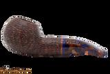 Savinelli Fantasia Brown 320 Tobacco Pipe - Rustic