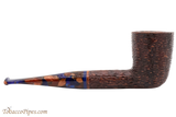 Savinelli Fantasia Brown 409 Tobacco Pipe - Rustic Right Side