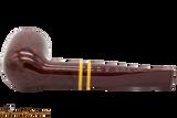 Savinelli Regimental Bordeaux 101 Tobacco Pipe - Smooth Bottom