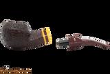 Savinelli Regimental Brown 624 Tobacco Pipe - Rustic Apart