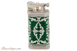 Sillems LEA Old Boy Green Double Sided Pipe Lighter Back