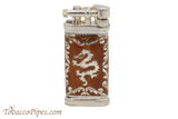 Sillems LEA Old Boy Dragon Red Pipe Lighter