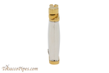 Sillems Old Boy Silver/Gold Pipe Lighter Side