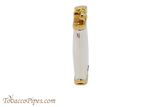 Sillems Old Boy Silver/Gold Pipe Lighter Side 2