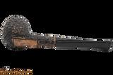 Peterson Aran 86 Bandless Rustic Tobacco Pipe Bottom