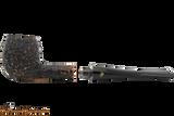 Peterson Aran 86 Bandless Rustic Tobacco Pipe Apart
