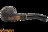 Peterson Aran 68 Bandless Rustic Tobacco Pipe Bottom