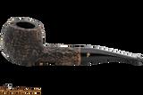 Peterson Aran 408 Bandless Rustic Tobacco Pipe
