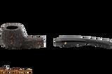 Peterson Aran 406 Bandless Rustic Tobacco Pipe Apart