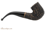 Peterson Aran 338 Bandless Rustic Tobacco Pipe Right Side