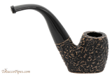 Peterson Aran 306 Bandless Rustic Tobacco Pipe Right Side