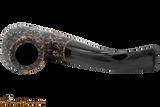 Peterson Aran 306 Bandless Rustic Tobacco Pipe Top
