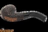 Peterson Aran 221 Bandless Rustic Tobacco Pipe Bottom