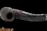 Peterson Aran 221 Bandless Rustic Tobacco Pipe Top
