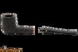 Peterson Aran 15 Bandless Rustic Tobacco Pipe Apart
