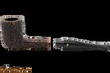 Peterson Aran 120 Bandless Rustic Tobacco Pipe Apart