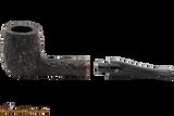 Peterson Aran 106 Bandless Rustic Tobacco Pipe Apart