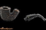 Peterson Aran 05 Bandless Rustic Tobacco Pipe Apart