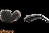 Peterson Aran 03 Bandless Rustic Tobacco Pipe Apart