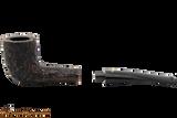Peterson Aran 268 Bandless Rustic Tobacco Pipe Apart