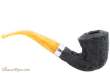 Peterson Rosslare Classic B10 Rustic Tobacco Pipe Right Side