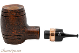 Rattray's Devil's Cut 130 Sandblast Brown Tobacco Pipe Apart