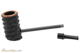 Eltang Basic Black Rustic Tobacco Pipe Apart