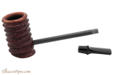 Eltang Basic Burgundy Rustic Tobacco Pipe Apart