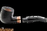 Rattray's Distillery 106 Sandblast Black Tobacco Pipe Apart