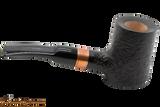 Rattray's Distillery 128 Sandblast Black Tobacco Pipe Right Side