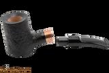 Rattray's Distillery 128 Sandblast Black Tobacco Pipe Apart