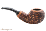 Chacom Reverse Calabash Rustic Tobacco Pipe Right Side