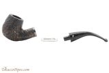 Peterson Dublin Filter XL90 Rustic Tobacco Pipe Fishtail Apart