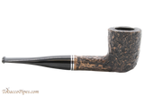 Peterson Dublin Filter 120 Rustic Tobacco Pipe Fishtail Right Side