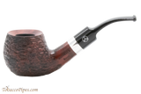 Rattray's Raven 123 Rustic Tobacco Pipe