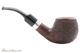 Rattray's Raven 123 Rustic Tobacco Pipe Right Side
