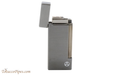 Rattray's Grand Gunmetal Satin Tobacco Pipe Lighter Open