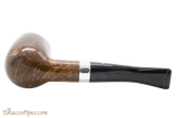 Peterson Short X105 Smooth Tobacco Pipe Fishtail Bottom