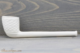 Old German Clay Pipe 32 White Finish