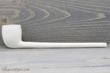 Old German Clay Pipe 22 White Finish