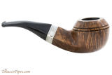 Peterson Short 80s Smooth Tobacco Pipe Fishtail Right Side