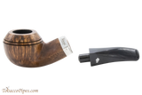 Peterson Short 80s Smooth Tobacco Pipe Fishtail Apart