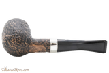 Peterson Short X105 Rustic Tobacco Pipe Fishtail Bottom