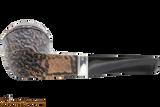 Peterson Short 150 Rustic Tobacco Pipe Fishtail Bottom