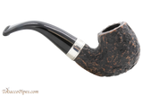 Peterson Short 230 Rustic Tobacco Pipe Fishtail Right Side