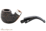 Peterson Short 230 Rustic Tobacco Pipe Fishtail Apart
