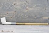 Old German Clay Pipe 38-2 White Finish